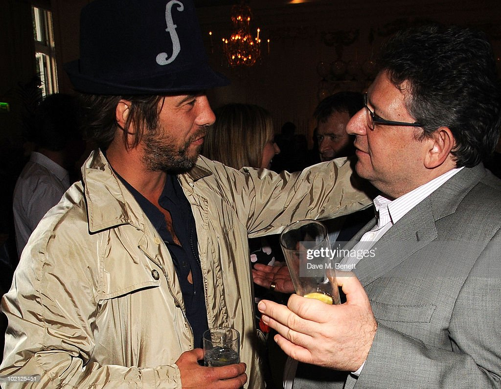 Jay Kay (L) and Lucian Grainge attend the Lucian Grainge VIP Party on June 15, 2010 in London, England.