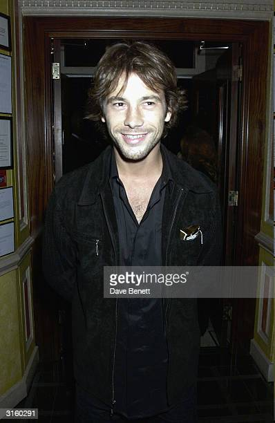Jay Kay attends the UK Premiere Party for 'The Italian Job' at 5 Cavendish Square on September 16 2003 in London