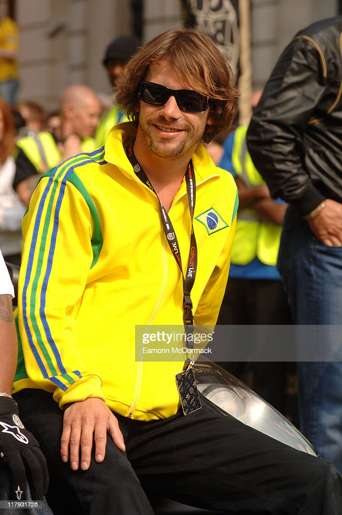 Jay Kay during Gumball 3000 Rally - London - Start at Pall Mall in London, Great Britain.