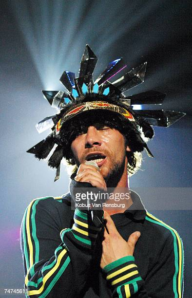 Jay Kay of Jamiroquai at the The Dome at Northgate in Johannesburg South Africa