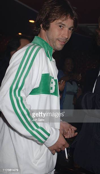 Jay Kay of Jamiroquai during Jay Kay of Jamiroquai Visits his Club Duo Music Exchange in Tokyo May 28 2005 at Duo Music Exchange in Tokyo Japan