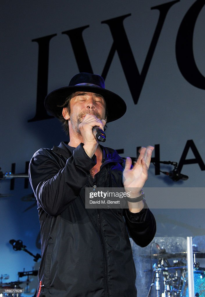 <a gi-track='captionPersonalityLinkClicked' href=/galleries/search?phrase=Jay+Kay&family=editorial&specificpeople=202140 ng-click='$event.stopPropagation()'>Jay Kay</a> of Jamiroquai performs at the exclusive 'For The Love Of Cinema' event hosted by Swiss luxury watch manufacturer IWC Schaffhausen at the famous Hotel du Cap-Eden-Roc on May 19, 2013 in Antibes, France.