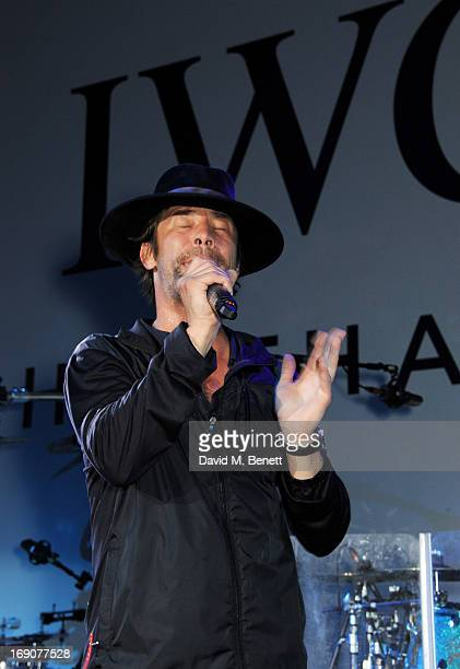 Jay Kay of Jamiroquai performs at the exclusive 'For The Love Of Cinema' event hosted by Swiss luxury watch manufacturer IWC Schaffhausen at the...