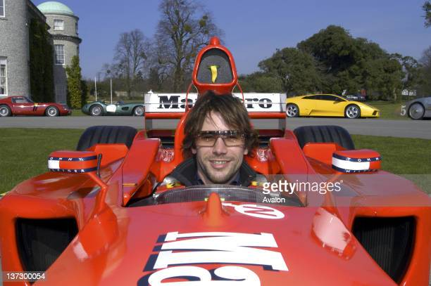 Jay Kay of Jamiroquai photographed at the Goodwood Festival of Speed West Sussex UKMarch 2003