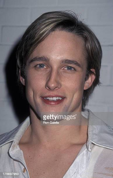 Jay Kenneth Johnson attends Henry Diltz Party on November 30 2000 at the Hard Rock Cafe in Los Angeles California