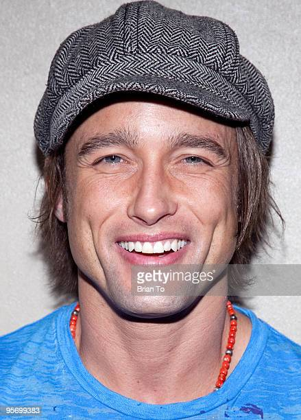 Jay Kenneth Johnson attends Talent Manager Mara Santino's Birthday Party at Lucky Strike Bowling Alley on January 10 2010 in Hollywood California