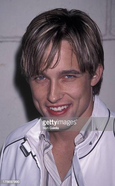 Jay Kenneth Johnson attends the world premiere of '40 Days and 40 Nights' on February 20 2002 at Mann Festival Theater in Westwood California