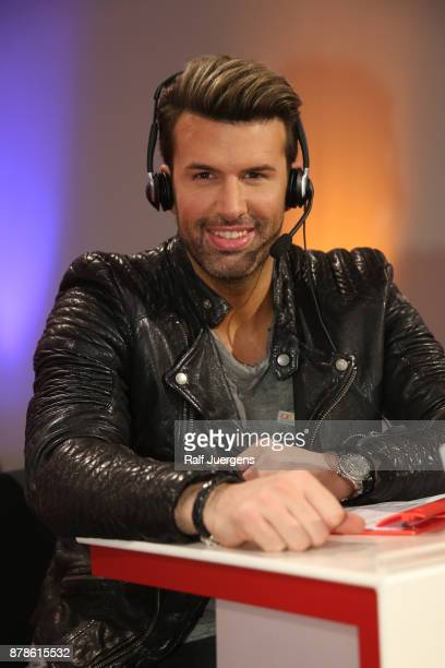 Jay Khan attends the 22nd RTL Telethon on November 24 2017 in Huerth Germany