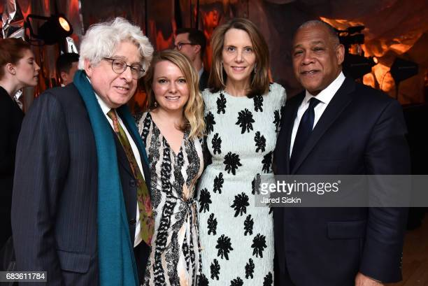 Jay Kriegel Celine Armstrong Catie Marron and Mitchell Silver attend 2017 High Line Spring Benefit Dinner at The Waterfront on May 15 2017 in New...