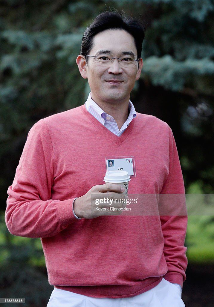 Jay Lee, vice chairman of Samsung Electronics and only son of Samsung Chairman Lee Kun-Hee, arrives to the Allen & Co. annual conference July 12, 2013 in Sun Valley, Idaho. The resort will host corporate leaders for the 31st annual Allen & Co. media and technology conference where some of the wealthiest and most powerful executives in media, finance, politics and tech gather for weeklong meetings which begins Tuesday. Past attendees included Warren Buffett, Bill Gates and Mark Zuckerberg.