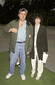 Jay Leno and Mavis Leno during Permanent Charities 'Earth Walk '93' at Universal Studios in Universal City California United States