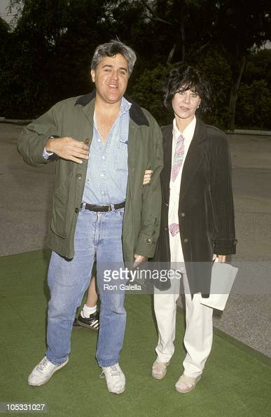 Jay Leno and Mavis Leno during Permanent Charities 'Earth Walk '93' at Universal Studios in Universal City California United States