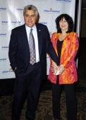 Jay Leno and Wife Mavis during 4th Annual AdoptAMinefield Gala at Century Plaza Hotel in Century City California United States