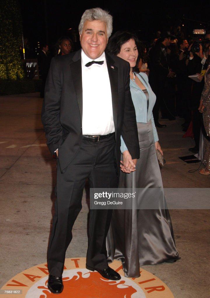 Jay Leno and wife Mavis