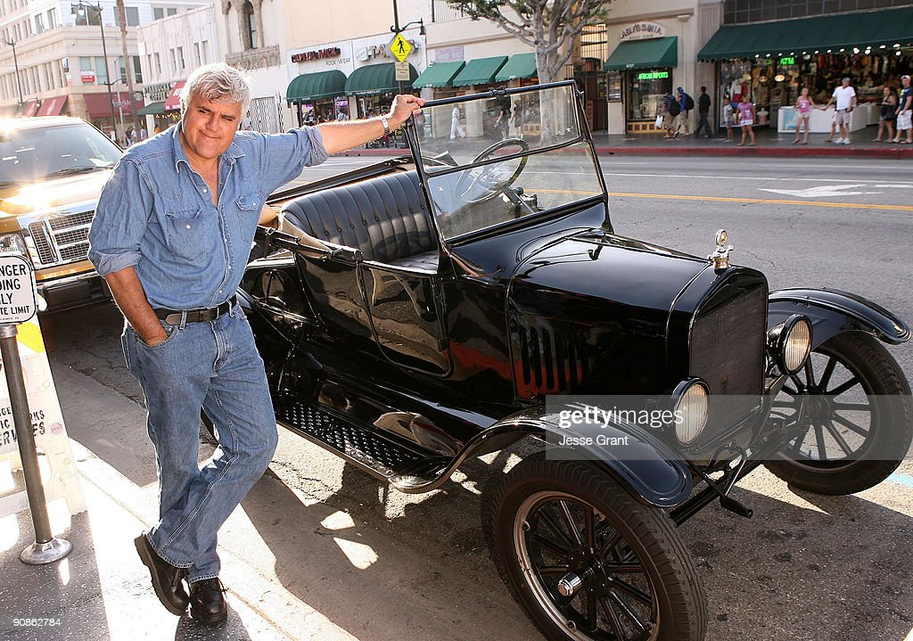 Jay Leno arrives at the Los Angeles premiere of 'Raptor Born in Baja' at Grauman's Egyptian Theatre on June 23 2009 in Hollywood California