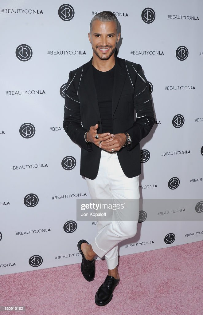 Jay Manuel arrives at the 5th Annual Beautycon Festival Los Angeles at Los Angeles Convention Center on August 12, 2017 in Los Angeles, California.