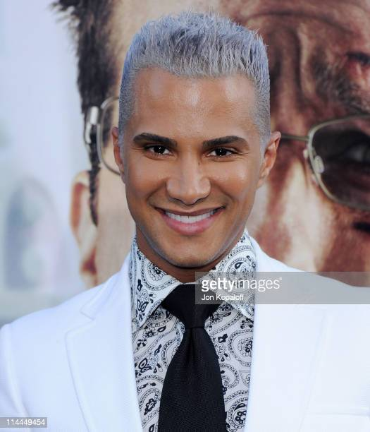 Jay Manuel arrives at the Los Angeles Premiere 'The Hangover Part II' at Grauman's Chinese Theatre on May 19 2011 in Hollywood California