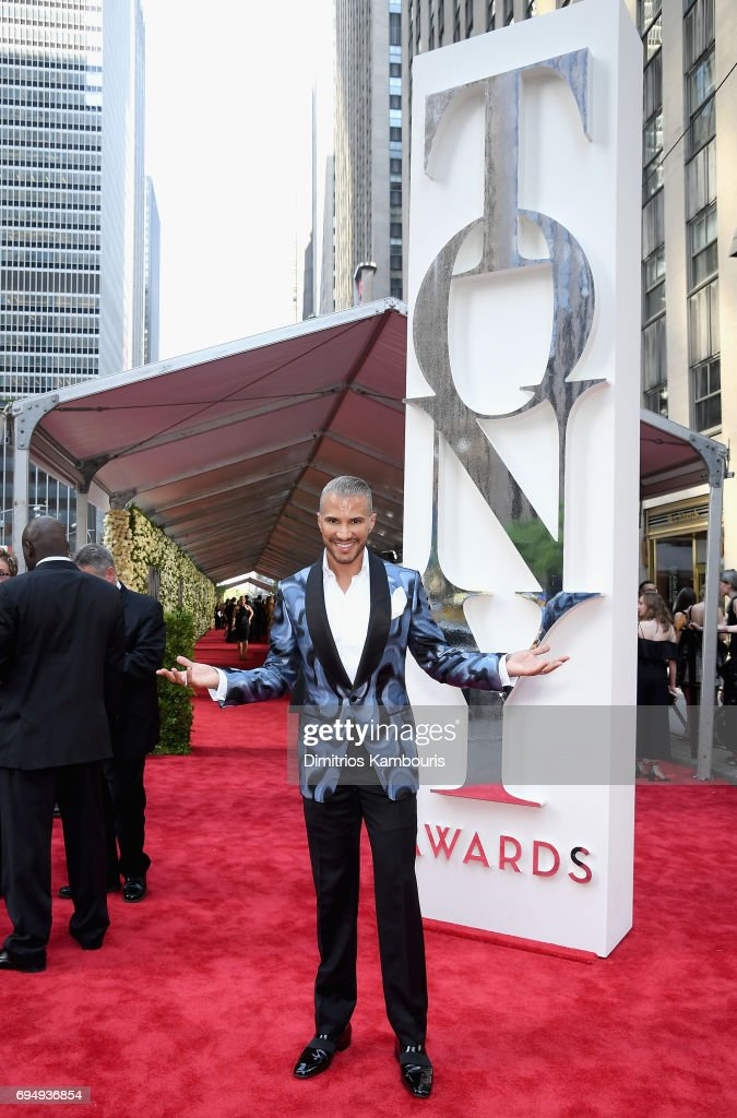 Jay Manuel attends the 2017 Tony Awards at Radio City Music Hall on June 11, 2017 in New York City.