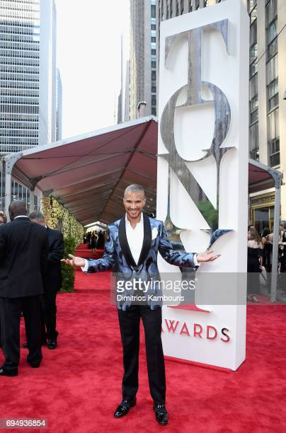 Jay Manuel attends the 2017 Tony Awards at Radio City Music Hall on June 11 2017 in New York City