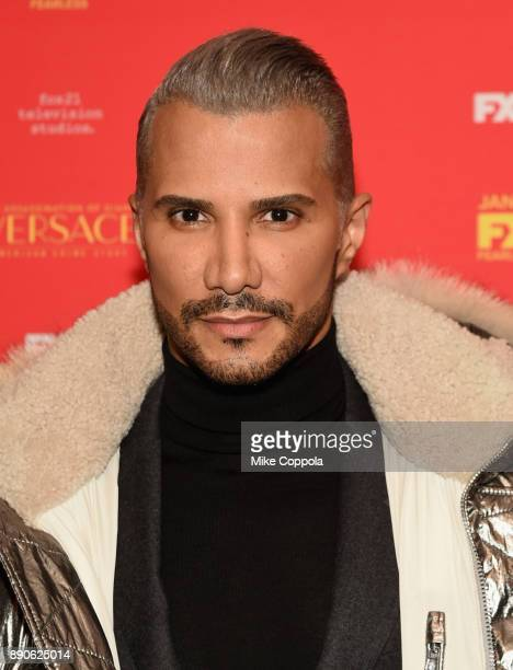 Jay Manuel attends 'The Assassination Of Gianni Versace American Crime Story' New York Screening at Metrograph on December 11 2017 in New York City