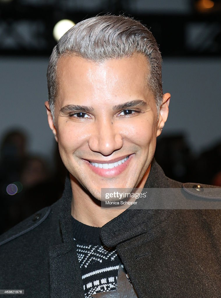 Jay Manuel attends The Blonds fashion show during MADE Fashion Week Fall 2015 at Milk Studios on February 18, 2015 in New York City.