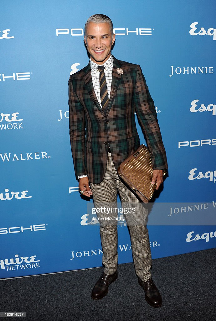 <a gi-track='captionPersonalityLinkClicked' href=/galleries/search?phrase=Jay+Manuel&family=editorial&specificpeople=557434 ng-click='$event.stopPropagation()'>Jay Manuel</a> attends the Esquire 80th anniversary and Esquire Network launch celebration at Highline Stages on September 17, 2013 in New York City.