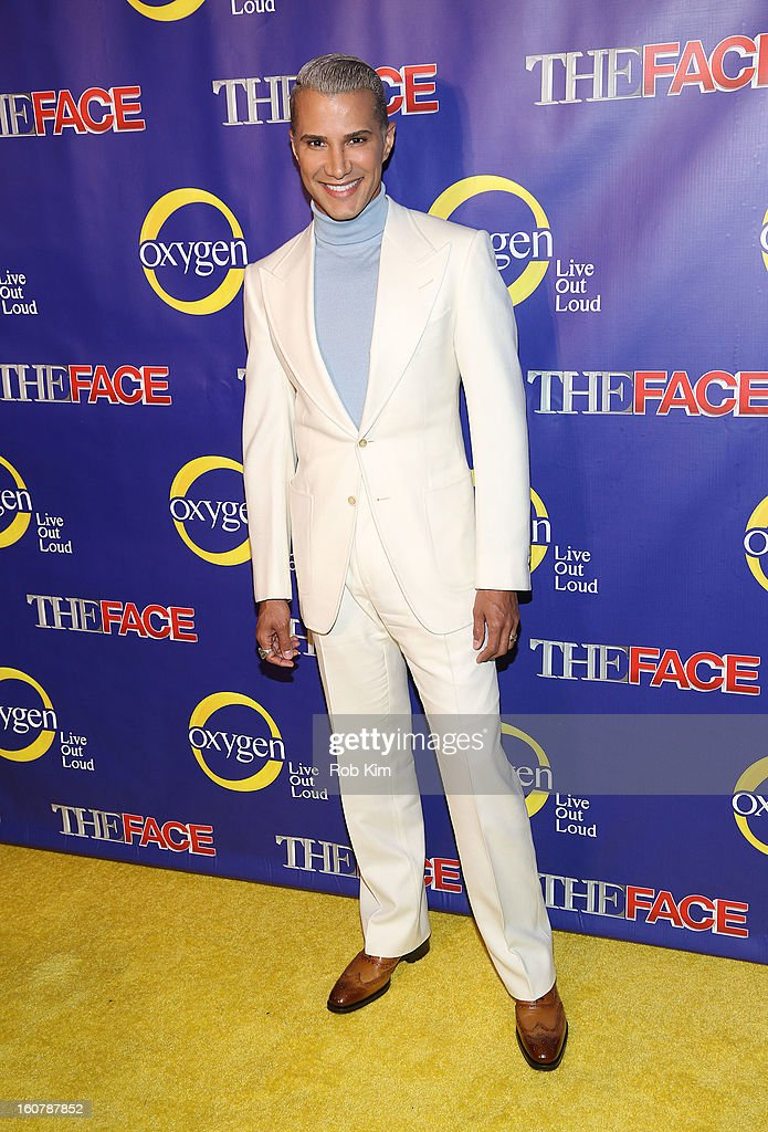 Jay Manuel attends 'The Face' Series Premiere at Marquee New York on February 5, 2013 in New York City.