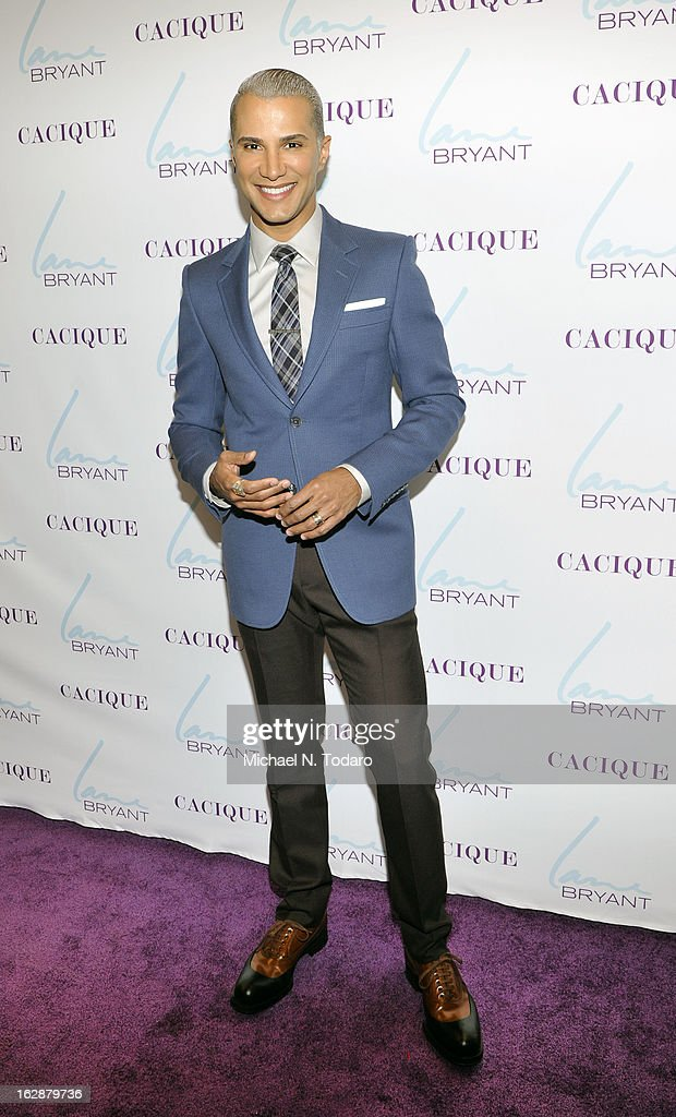 <a gi-track='captionPersonalityLinkClicked' href=/galleries/search?phrase=Jay+Manuel&family=editorial&specificpeople=557434 ng-click='$event.stopPropagation()'>Jay Manuel</a> attends the opening party for the Lane Bryant 34th Street Flagship Store on February 28, 2013 in New York City.