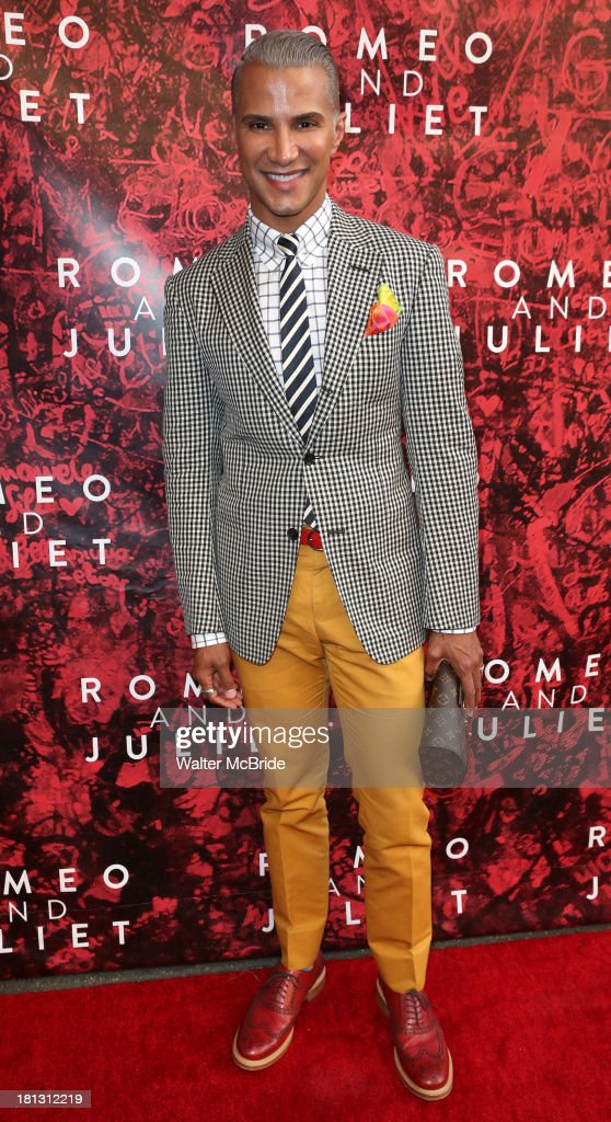 Jay Manuel attends the 'Romeo And Juliet' Broadway Opening Night at Richard Rodgers Theatre on September 19, 2013 in New York City.