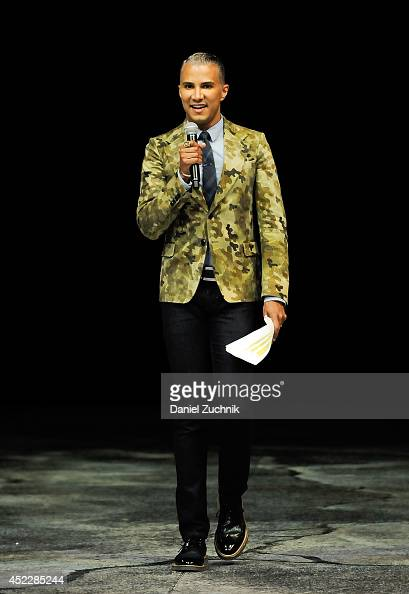 Jay Manuel attends the Walking With Dinosaurs 'A Feathered Fashion Show' at Barclays Center on July 17 2014 in New York City