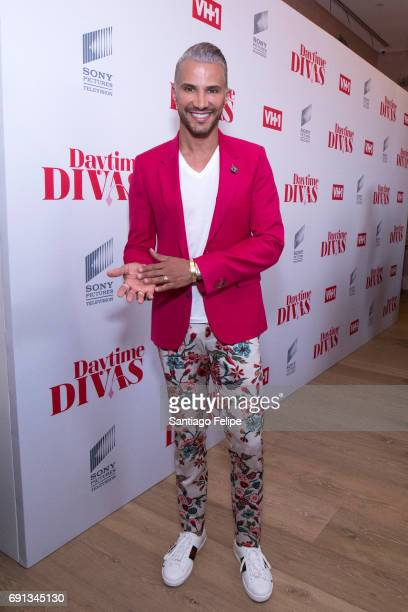 Jay Manuel attends VH1 Daytime Divas Premiere Event at the Whitby Hotel on June 1 2017 in New York City