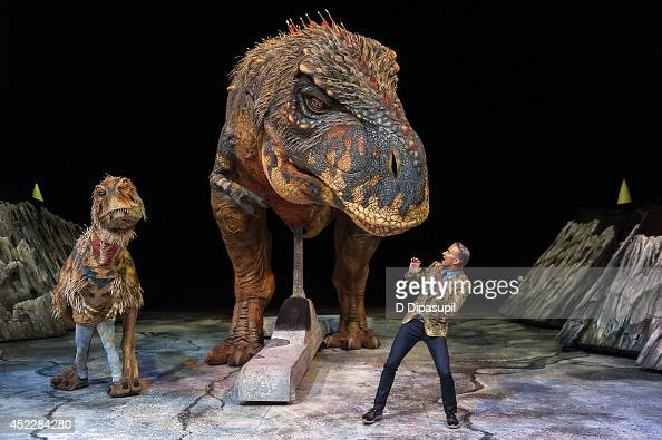 Jay Manuel hosts Walking With Dinosaurs 'A Feathered Fashion Show' at Barclays Center on July 17 2014 in New York City