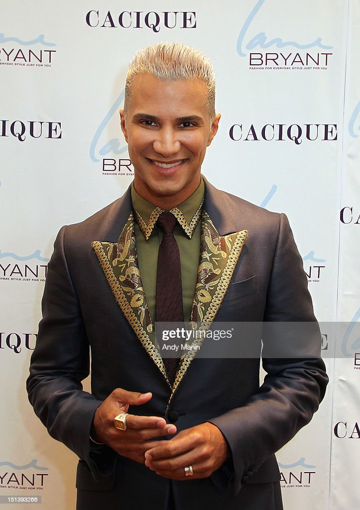 <a gi-track='captionPersonalityLinkClicked' href=/galleries/search?phrase=Jay+Manuel&family=editorial&specificpeople=557434 ng-click='$event.stopPropagation()'>Jay Manuel</a> poses for a photo during Fashion Guru <a gi-track='captionPersonalityLinkClicked' href=/galleries/search?phrase=Jay+Manuel&family=editorial&specificpeople=557434 ng-click='$event.stopPropagation()'>Jay Manuel</a> Hosts Lane Bryant's Fashion Night Out on September 6, 2012 in Brooklyn, New York.