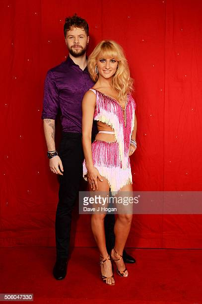 Jay McGuiness and Aliona Vilani backstage at the Strictly Come Dancing Live Tour rehearsals Strictly Come Dancing Live Tour opens tomorrow 22nd...