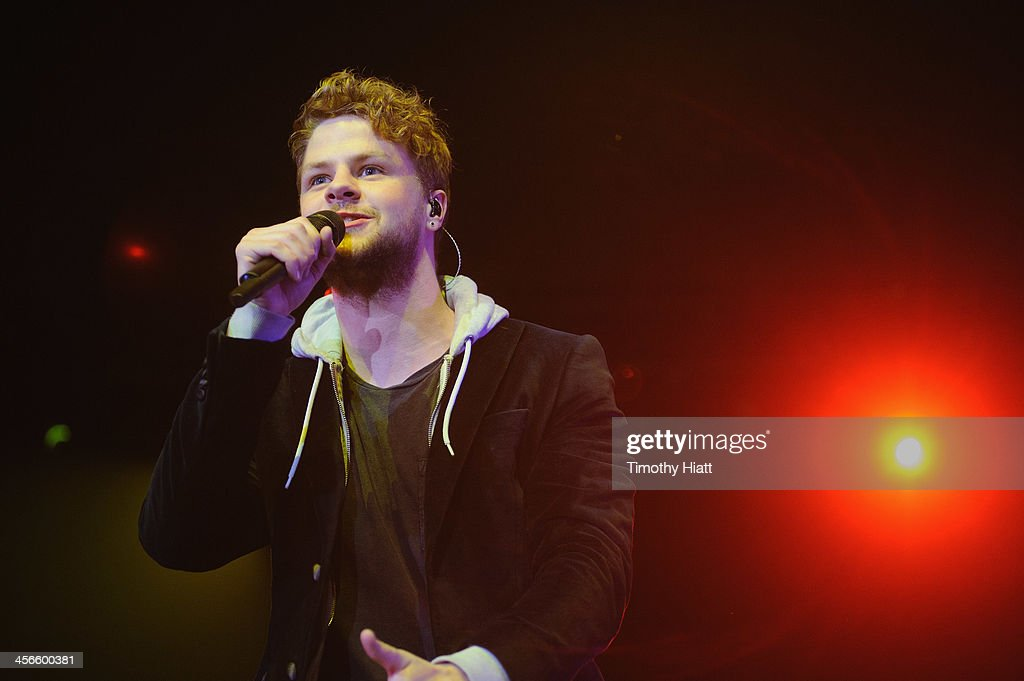 <a gi-track='captionPersonalityLinkClicked' href=/galleries/search?phrase=Jay+McGuiness&family=editorial&specificpeople=7039806 ng-click='$event.stopPropagation()'>Jay McGuiness</a> of The Wanted performs during the B96 Pepsi Jingle Bash at Allstate Arena on December 14, 2013 in Chicago, Illinois.