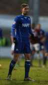 Jay O'Shea of Chesterfield in action during the Sky Bet League Two match between Northampton Town and Chesterfield at Sixfields Stadium on January 25...