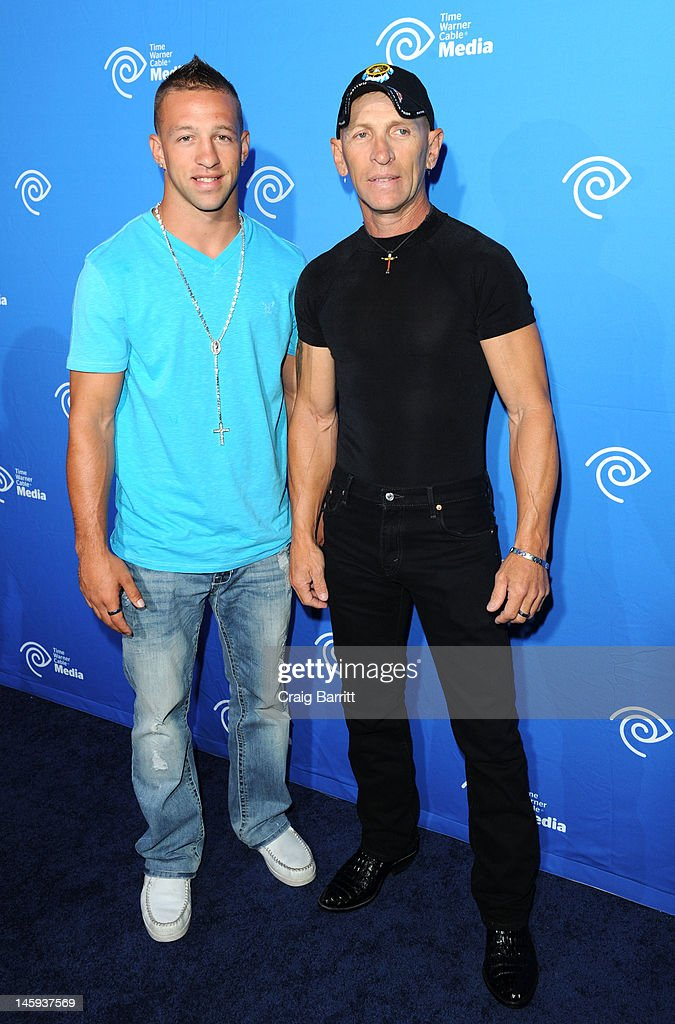 Jay Paul Molinere and R.J. Molinere attends the Time Warner Cable Media 'Cabletime' Upfront at Yotel Hotel on June 7, 2012 in New York City.