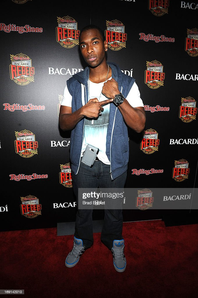 <a gi-track='captionPersonalityLinkClicked' href=/galleries/search?phrase=Jay+Pharoah&family=editorial&specificpeople=7252581 ng-click='$event.stopPropagation()'>Jay Pharoah</a> attends Rolling Stone hosts Bacardi Rebels at Roseland Ballroom on May 20, 2013 in New York City.