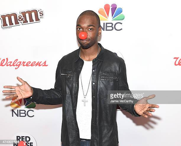 Jay Pharoah attends the Red Nose Day Charity Event at Hammerstein Ballroom on May 21 2015 in New York City