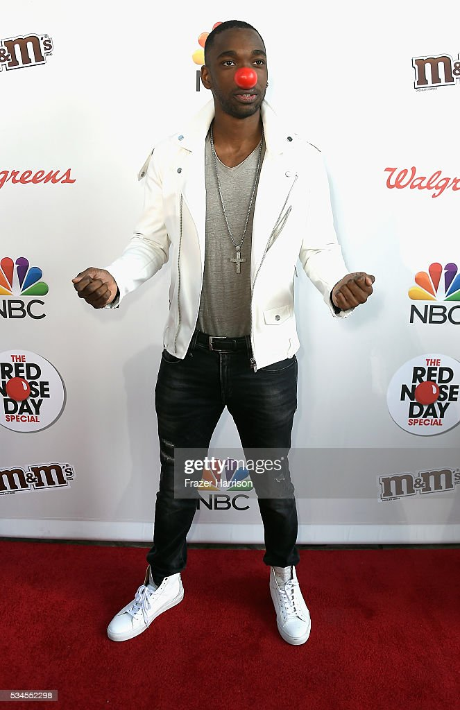 <a gi-track='captionPersonalityLinkClicked' href=/galleries/search?phrase=Jay+Pharoah&family=editorial&specificpeople=7252581 ng-click='$event.stopPropagation()'>Jay Pharoah</a> attends The Red Nose Day Special on NBC at Alfred Hitchcock Theater at Universal Studios on May 26, 2016 in Universal City, California.