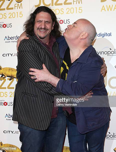 Jay Rayner and Ian Shaw attends the Jazz FM Awards at Vinopolis on June 10 2015 in London England