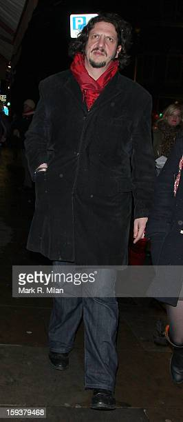 Jay Rayner at Century for Charlie Condou's Birthday on January 12 2013 in London England