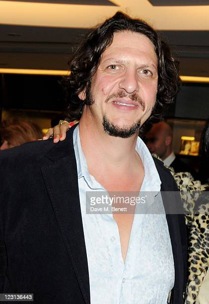 Jay Rayner attends the launch of The French Laundry popup restaurant at Harrods on August 31 2011 in London England