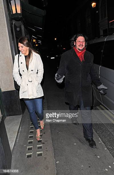 Jay Rayner sighting in West Street on March 25 2013 in London England