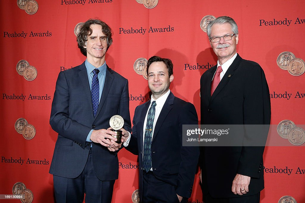 <a gi-track='captionPersonalityLinkClicked' href=/galleries/search?phrase=Jay+Roach&family=editorial&specificpeople=2576157 ng-click='$event.stopPropagation()'>Jay Roach</a>, Danny Strong and Horace Newcomb attends 72nd Annual George Foster Peabody Awards at The Waldorf=Astoria on May 20, 2013 in New York City.