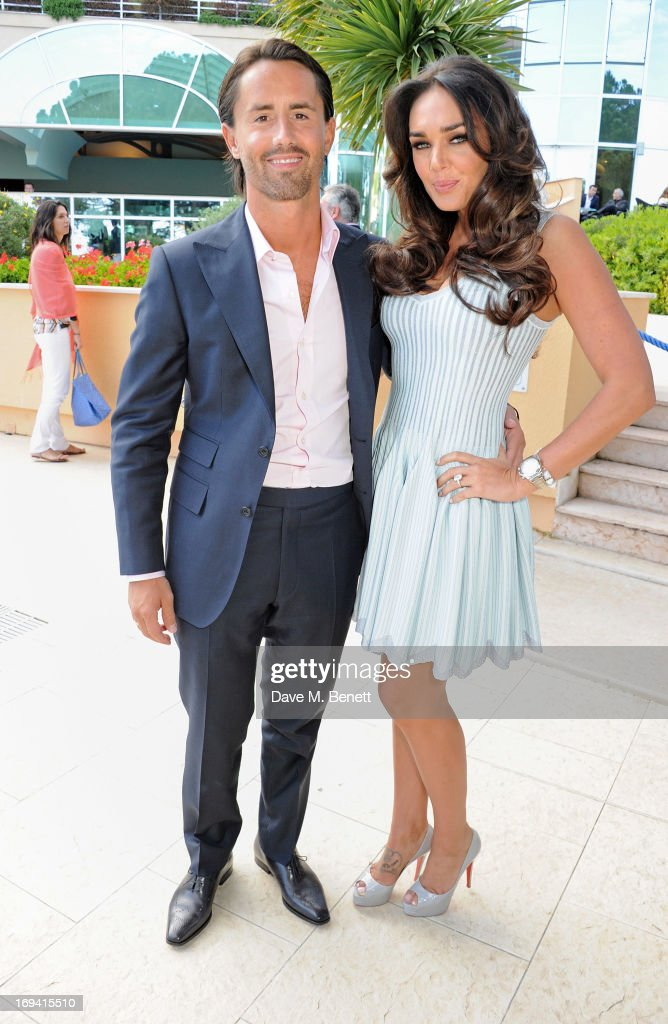 Jay Rutland (L) and <a gi-track='captionPersonalityLinkClicked' href=/galleries/search?phrase=Tamara+Ecclestone&family=editorial&specificpeople=575176 ng-click='$event.stopPropagation()'>Tamara Ecclestone</a> attend Amber Lounge Fashion Monaco 2013 at Le Meridien Beach Plaza Hotel on May 24, 2013 in Monaco, Monaco.