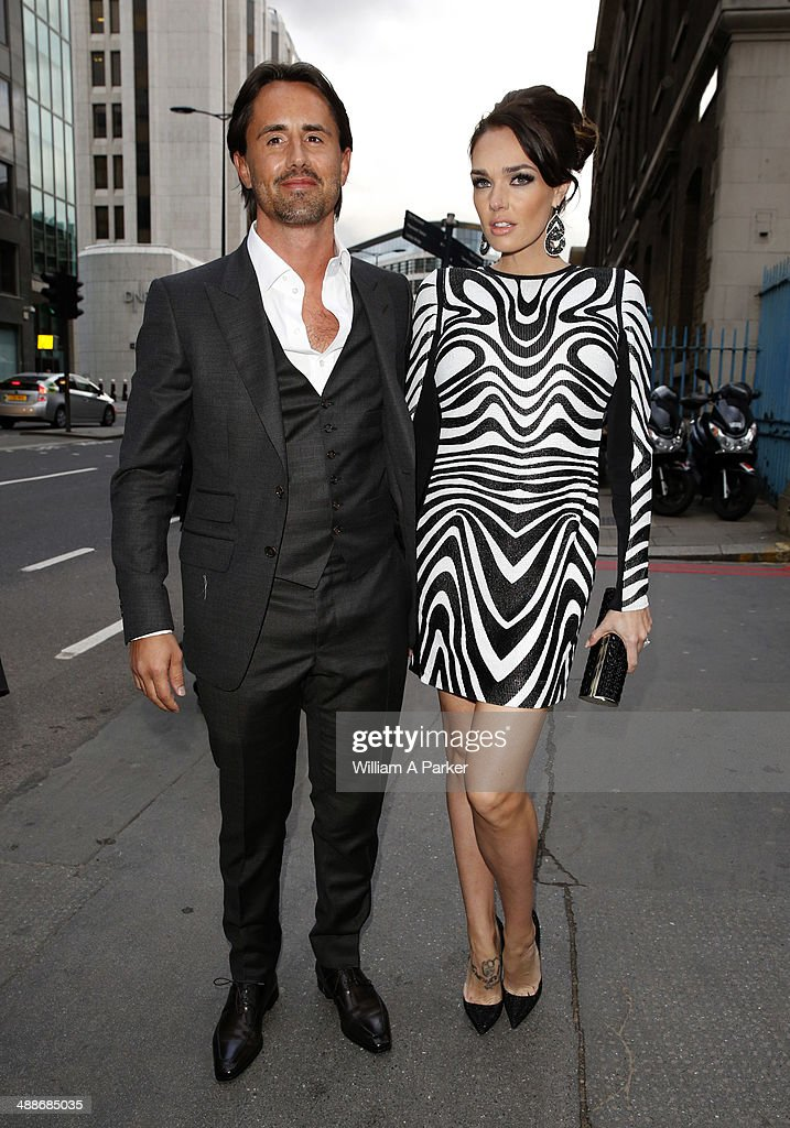 Jay Rutland and Tamara Ecclestone attending Gabrielle's Angel Foundation For Cancer Research Hosts Third on May 7, 2014 in London, England.