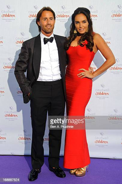 Jay Rutland and Tamara Ecclestone attends The Butterfly Ball A Sensory Experience in aid of the Caudwell Children's charity at Battersea Evolution on...