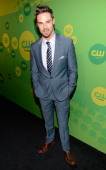 Jay Ryan attends the CW Network's 2013 Upfront at The London Hotel on May 16 2013 in New York City