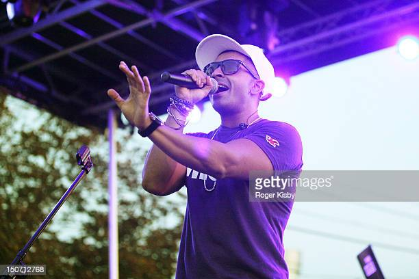 Jay Sean performs onstage during the Z100 End Of Summer Concert at Luna Park on August 24 2012 in the Brooklyn borough of New York City